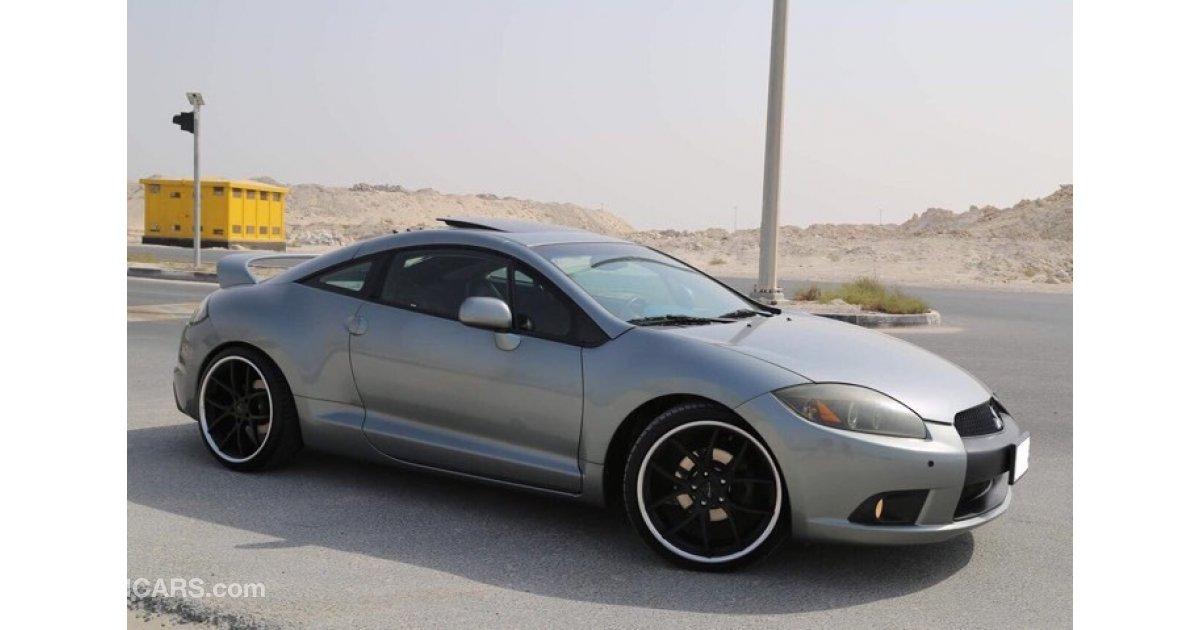 Mitsubishi Eclipse For Sale Aed 41 500 Grey Silver 2009