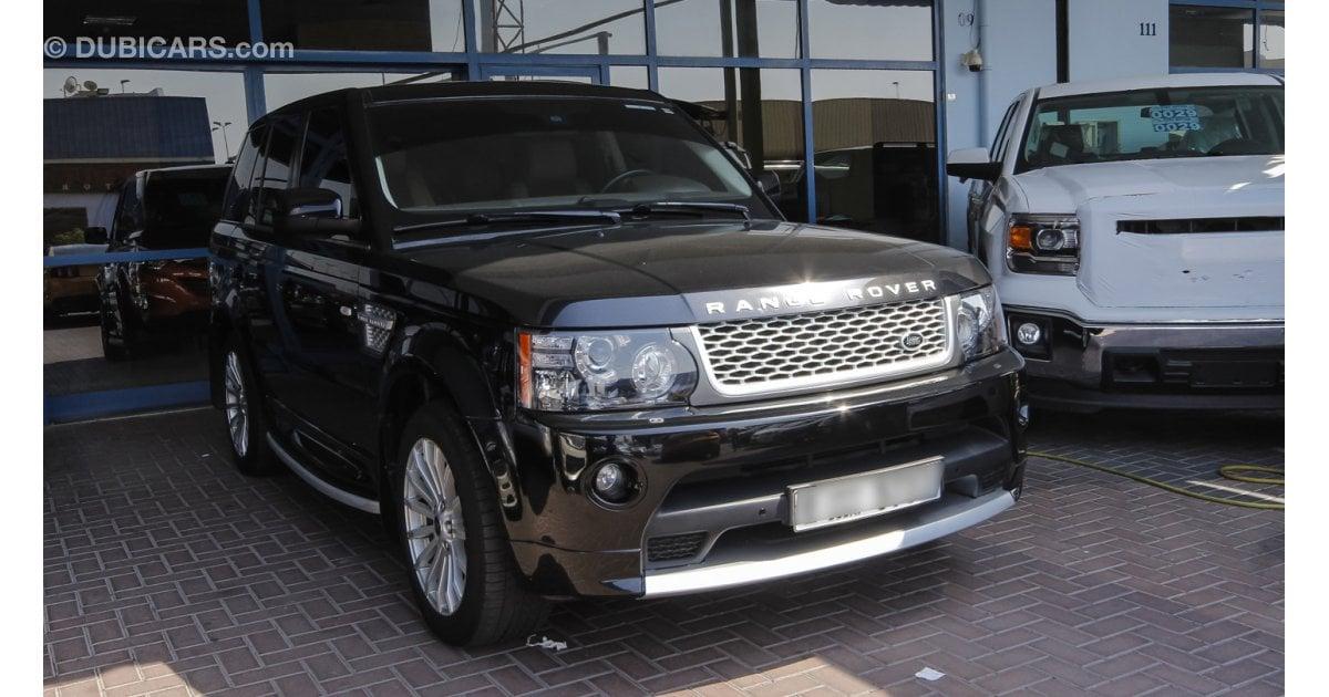 land rover range rover sport hse for sale aed 173 500 black 2013. Black Bedroom Furniture Sets. Home Design Ideas