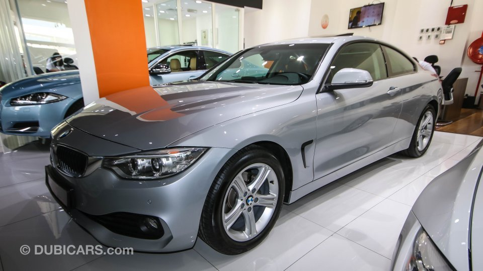 Bmw 420 i for sale aed 135 000 grey silver 2014 for Sun motor cars bmw