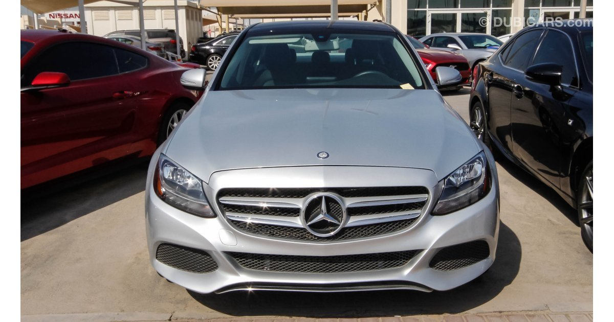Mercedes Benz C 300 S For Sale Aed 122 000 Grey Silver 2015