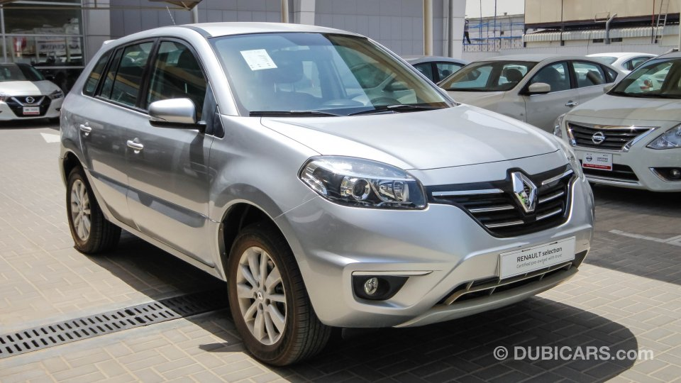 renault koleos for sale aed 52 900 grey silver 2015. Black Bedroom Furniture Sets. Home Design Ideas