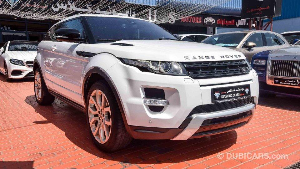 Land Rover Range Rover Evoque For Sale Aed 99 000 White