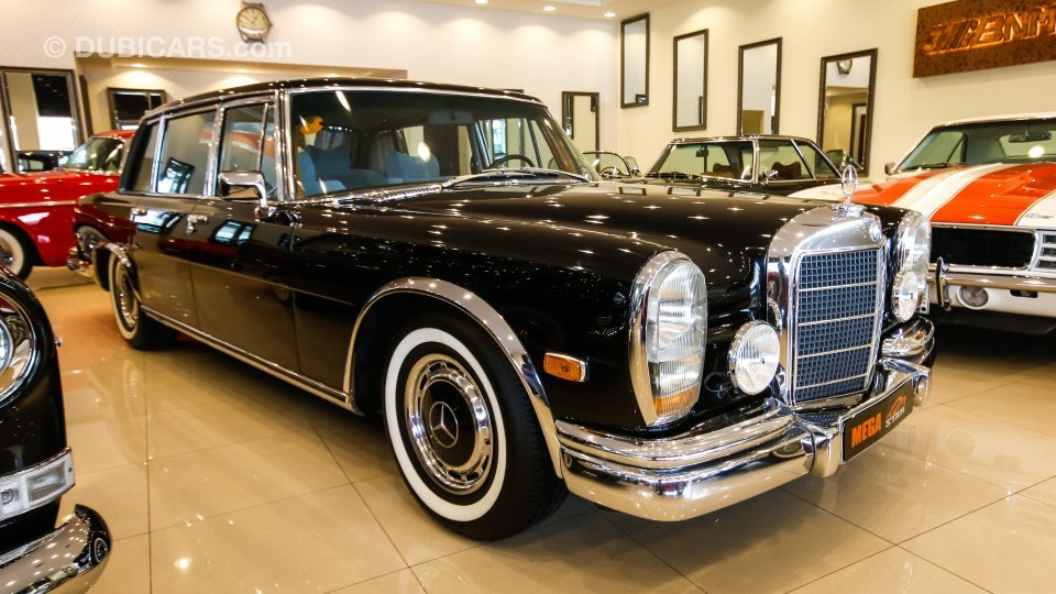 Mercedes benz 600 for sale aed 850 000 black 1976 for Mercedes benz 600 for sale
