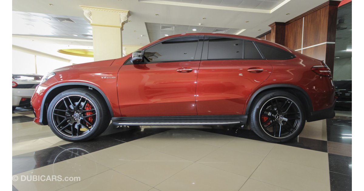 mercedes benz gle 63 amg v8 biturbo coupe for sale aed. Black Bedroom Furniture Sets. Home Design Ideas