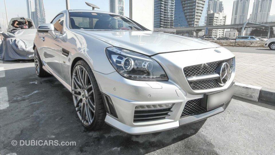 Mercedes Benz Slk 55 Amg Brabus For Sale Aed 299 000