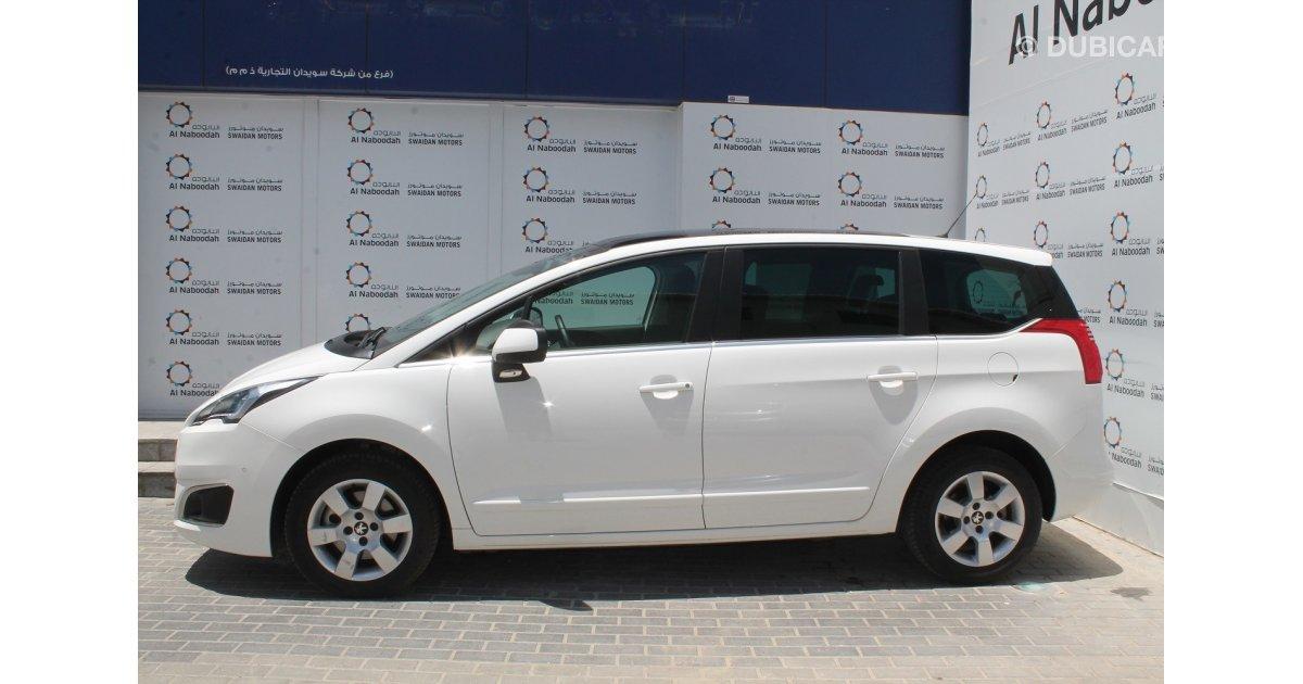 Peugeot Keyless System >> Peugeot 5008 1.6L TURBO 2015 MODEL for sale: AED 49,000. White, 2015