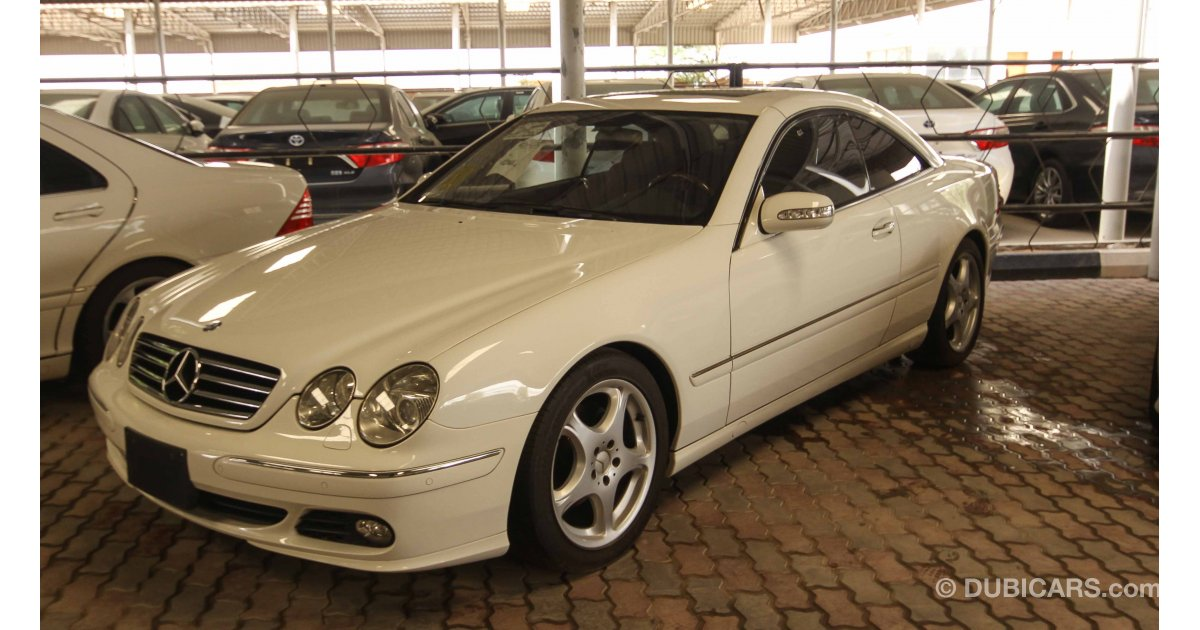 Mercedes benz cl 500 for sale aed 35 000 white 2005 for Mercedes benz 2005 for sale