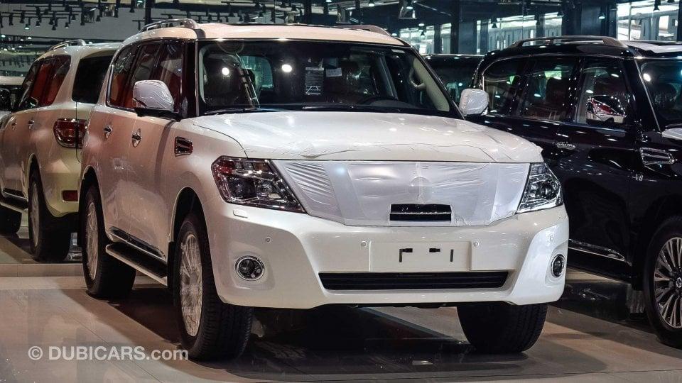 Nissan Patrol SE Platinum for sale: AED 210,500. White, 2019