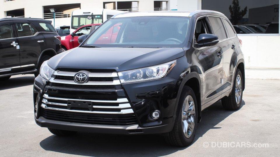 Toyota Highlander Limited For Sale Black 2019