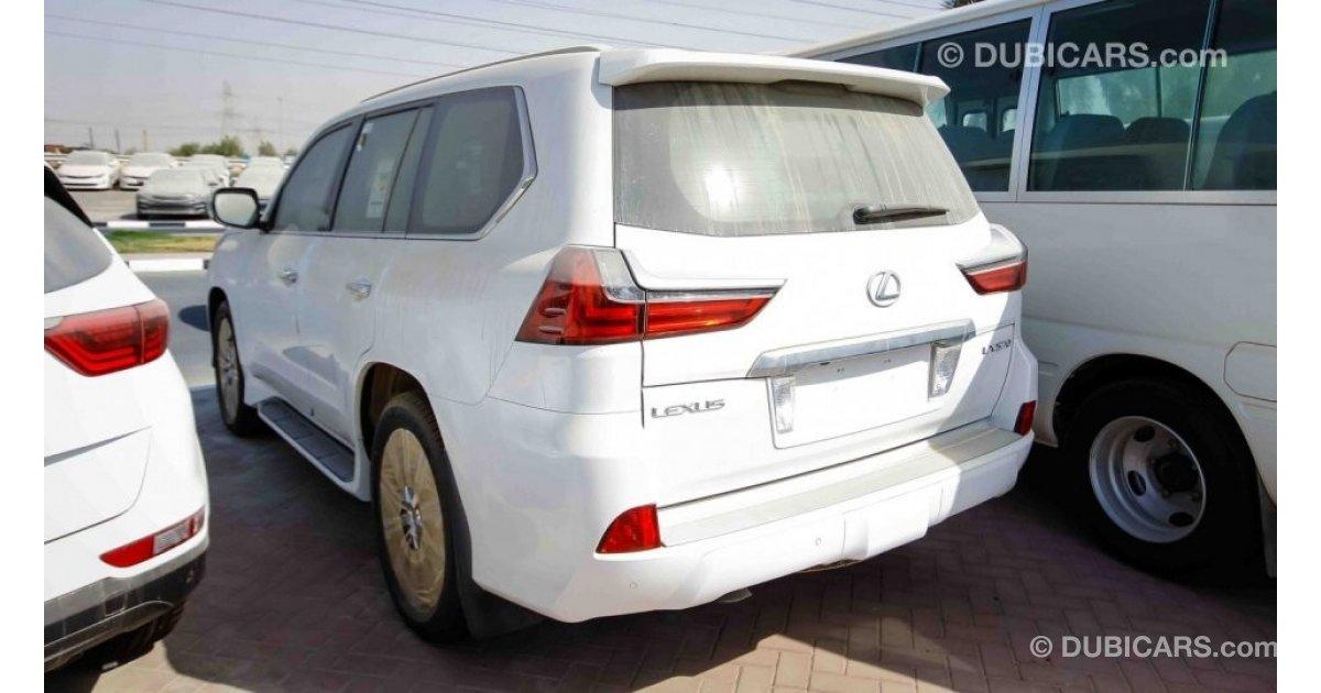 Lexus lx 570 for sale aed 340 000 white 2017 for Lexus motors for sale