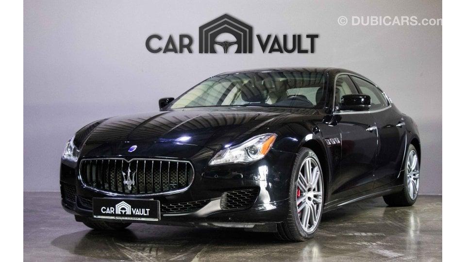 Maserati Ghibli Q4 >> Maserati Quattroporte Q4 With Warranty