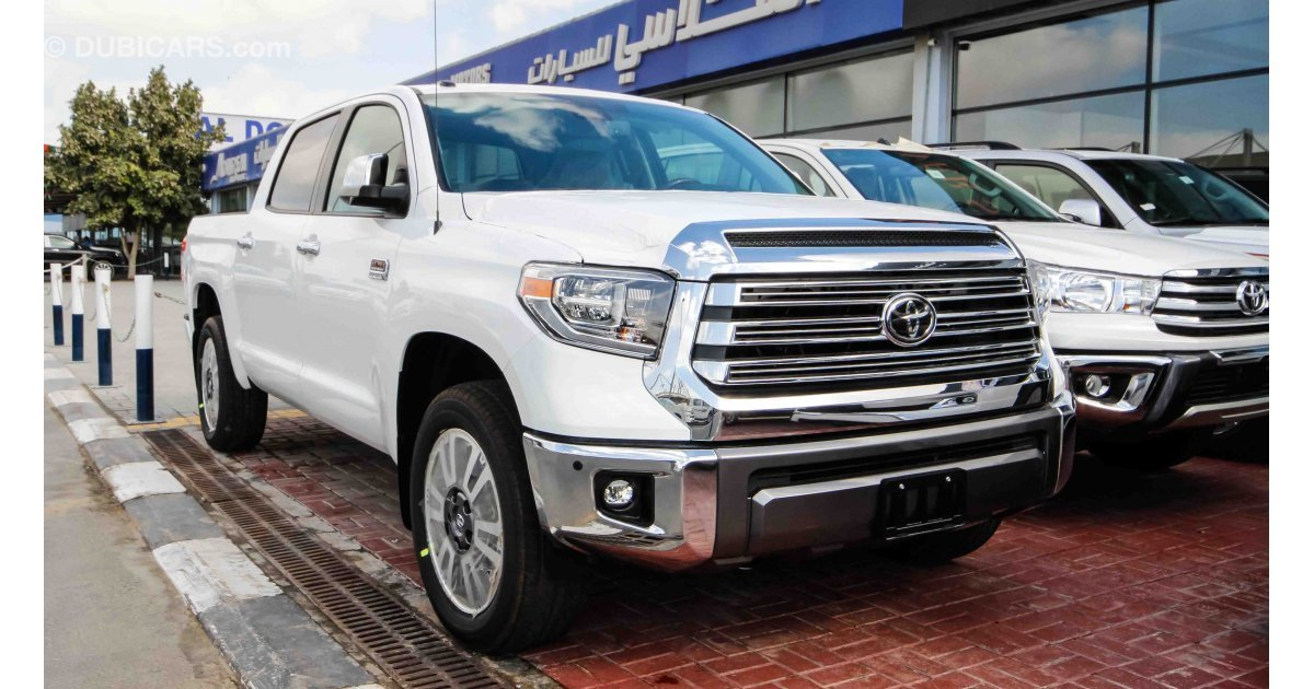 Toyota Tundra 1794 Edition for sale. White, 2018