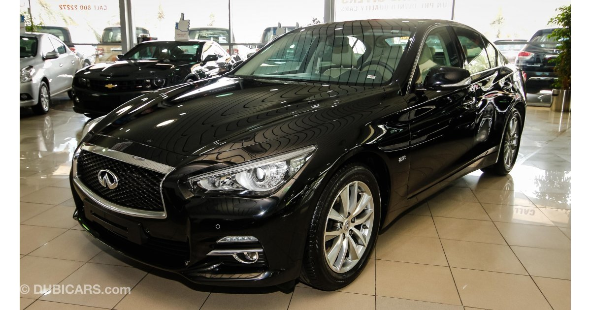 infiniti q50 for sale aed 95 900 black 2016. Black Bedroom Furniture Sets. Home Design Ideas