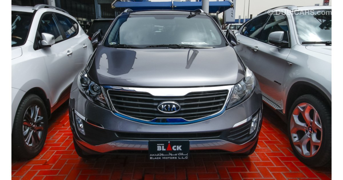 kia sportage for sale aed 49 500 grey silver 2013. Black Bedroom Furniture Sets. Home Design Ideas