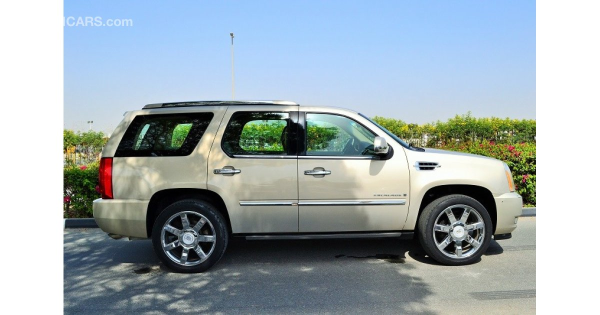 cadillac escalade zero down payment 1 995 aed monthly 1 year warranty for sale aed 65 000. Black Bedroom Furniture Sets. Home Design Ideas