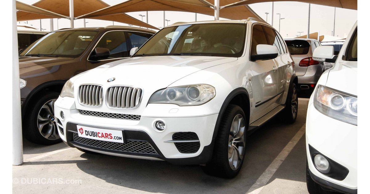 bmw x5 xdrive 50i for sale aed 75 000 white 2011. Black Bedroom Furniture Sets. Home Design Ideas