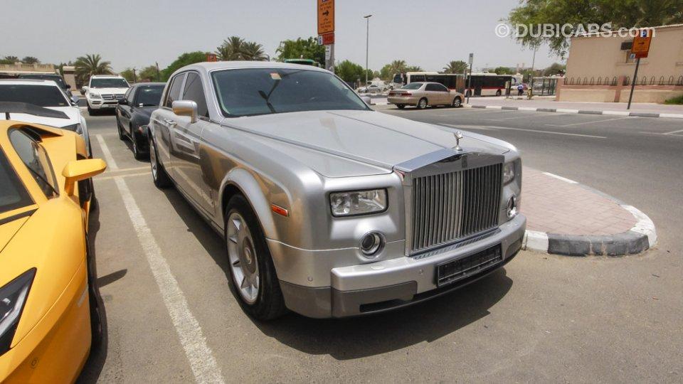 Rolls Royce Phantom 6 8l V12 For Sale Aed 435 000 Grey