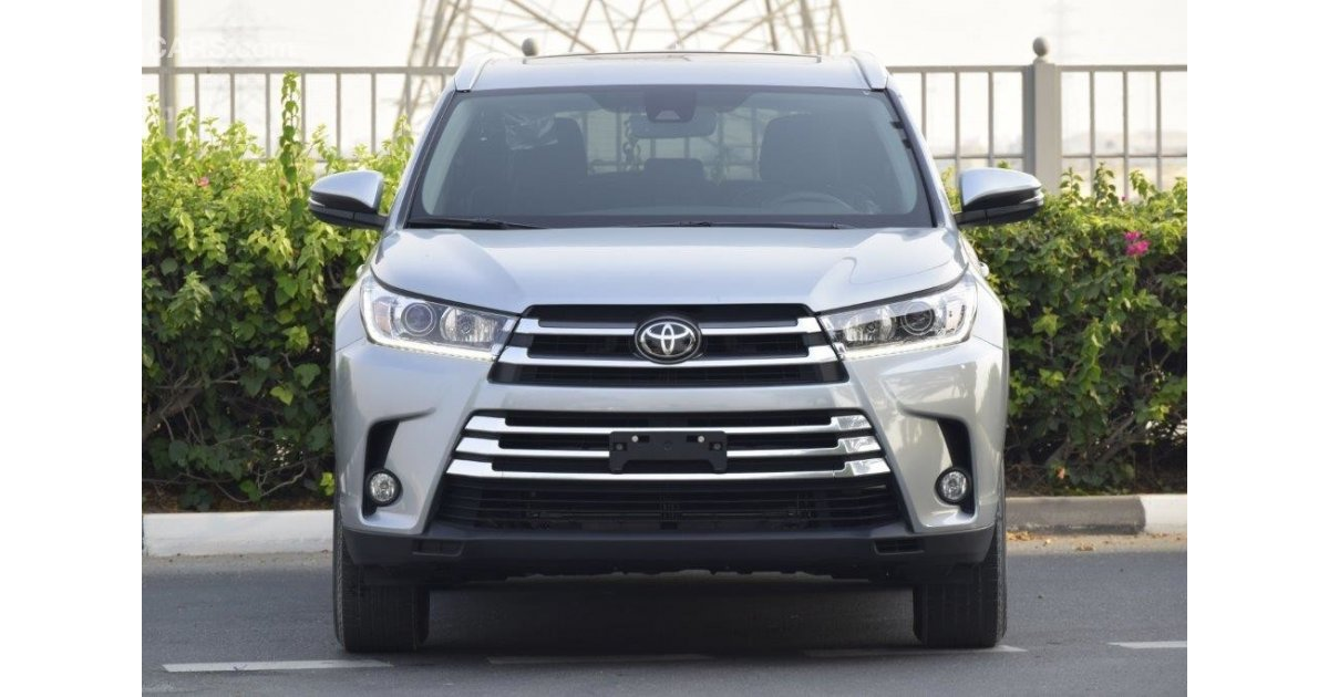 toyota highlander xle 3 5l petrol awd 7 seat automatic for sale aed 143 000 grey silver 2017. Black Bedroom Furniture Sets. Home Design Ideas