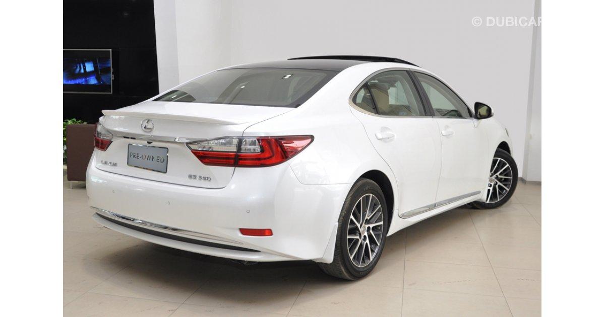 Lexus es 350 3 5l at titanium for sale aed 171 900 white for Lexus motors for sale
