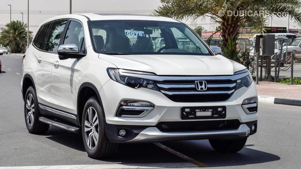 Used Honda Pilot For Sale >> Honda Pilot AWD for sale: AED 135,000. White, 2018