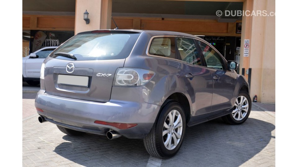 mazda cx 7 fully option in excellent condition for sale aed 19 500 grey silver 2010. Black Bedroom Furniture Sets. Home Design Ideas