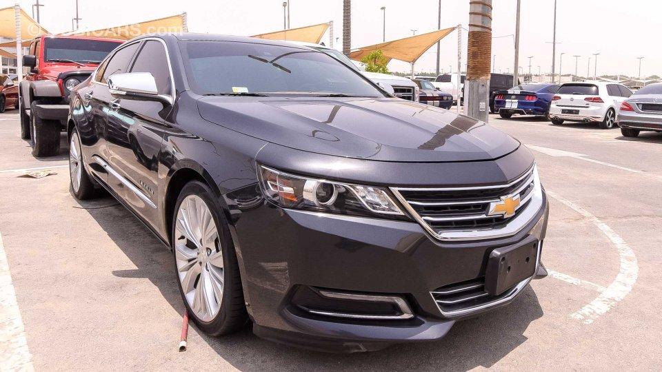 chevrolet impala v6 ltz for sale aed 61 000 grey silver 2015. Black Bedroom Furniture Sets. Home Design Ideas