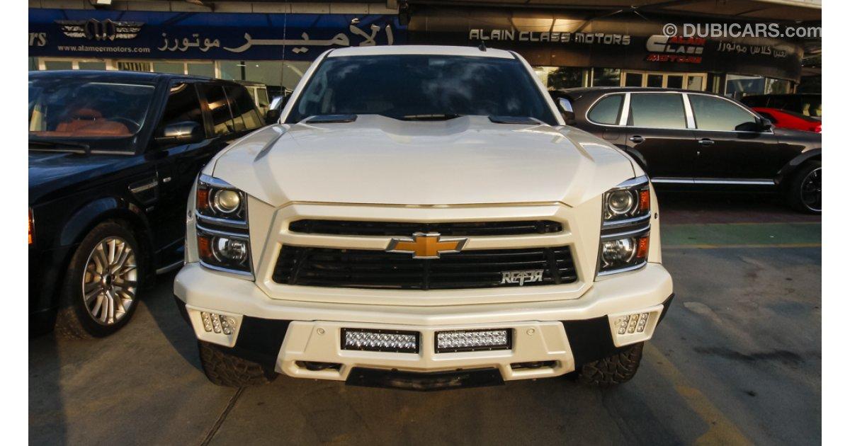 Chevy Reaper Specs >> Chevrolet Silverado Reaper for sale: AED 210,000. White, 2014