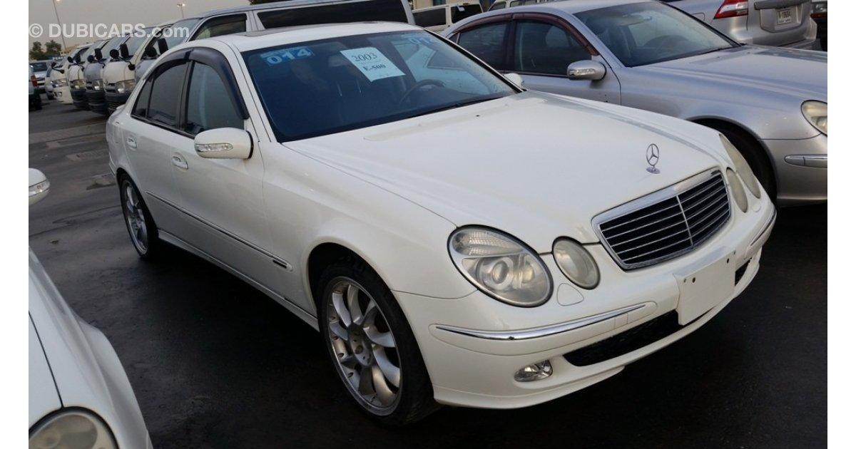 Mercedes benz e 500 japanese 65000 kilometers for sale for 2003 mercedes benz e500 for sale