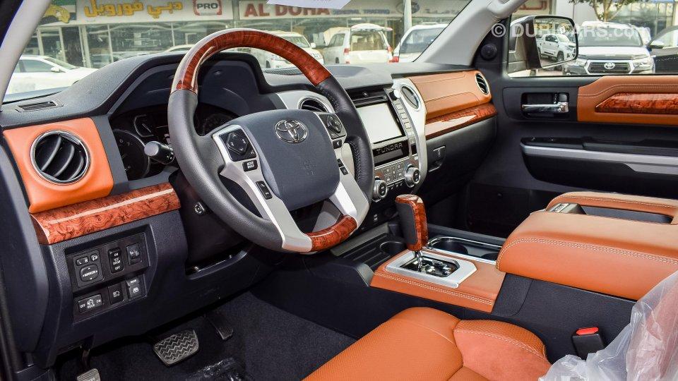 Toyota Tundra 1794 Edition 5 7l V8 For Sale Grey Silver 2019