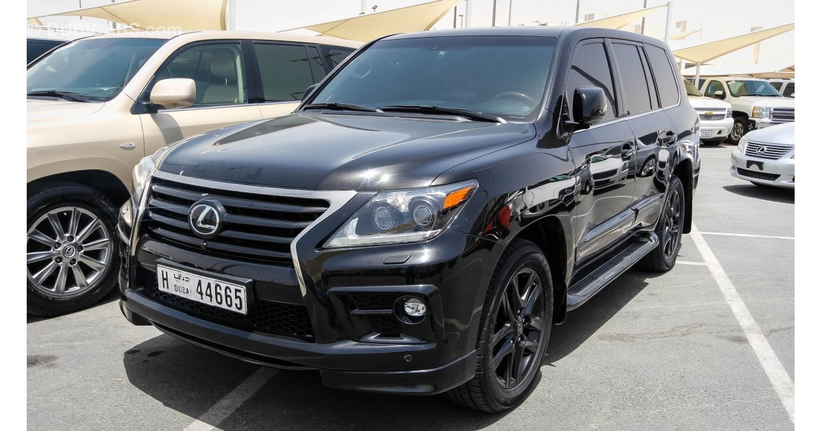 lexus lx 570 supercharger for sale aed 265 000 black 2014. Black Bedroom Furniture Sets. Home Design Ideas