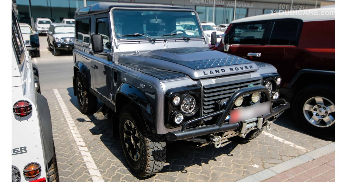 Land Rover Defender For Sale Aed 175 000 Grey Silver 2013
