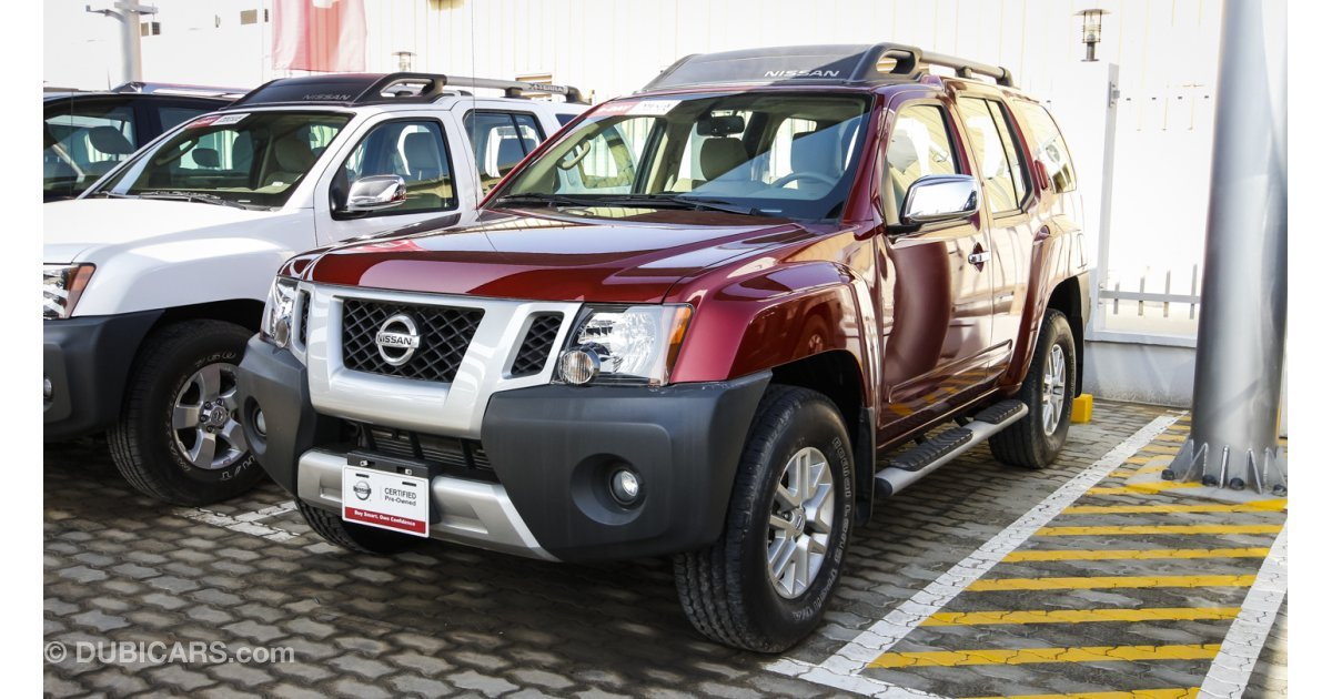 nissan xterra for sale aed 89 900 red 2014. Black Bedroom Furniture Sets. Home Design Ideas