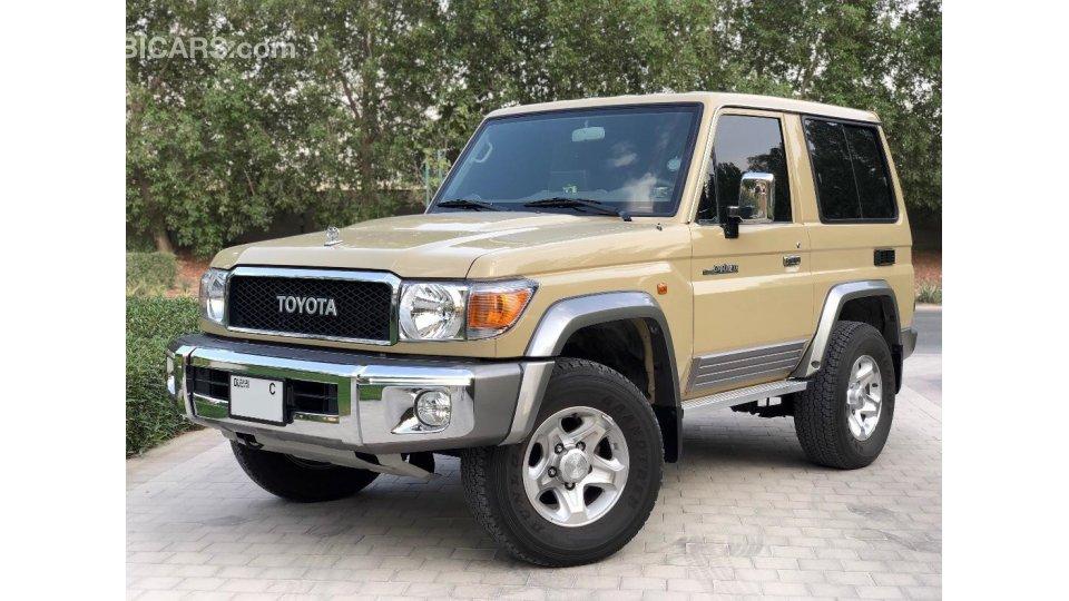 2016 Toyota Highlander For Sale >> Toyota Land Cruiser for sale: AED 110,000. Beige, 2016