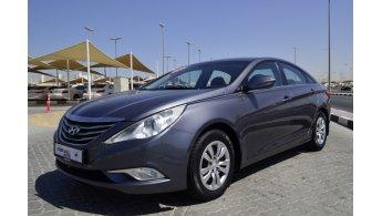 Hyundai Sonata For Sale Aed 27 000 Brown 2014