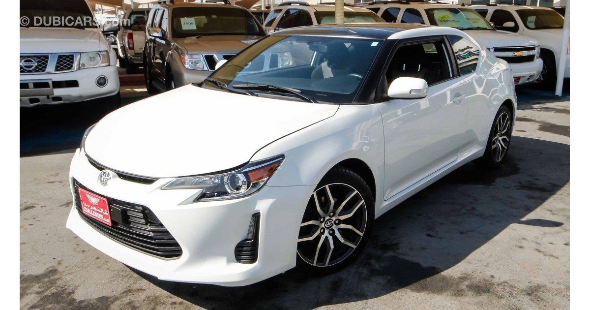Scion Tc Headlights >> Scion tC With Toyota Logo for sale: AED 38,000. White, 2015