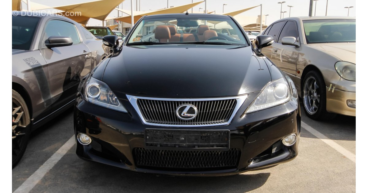 lexus is 250 c for sale aed 60000 black 2012