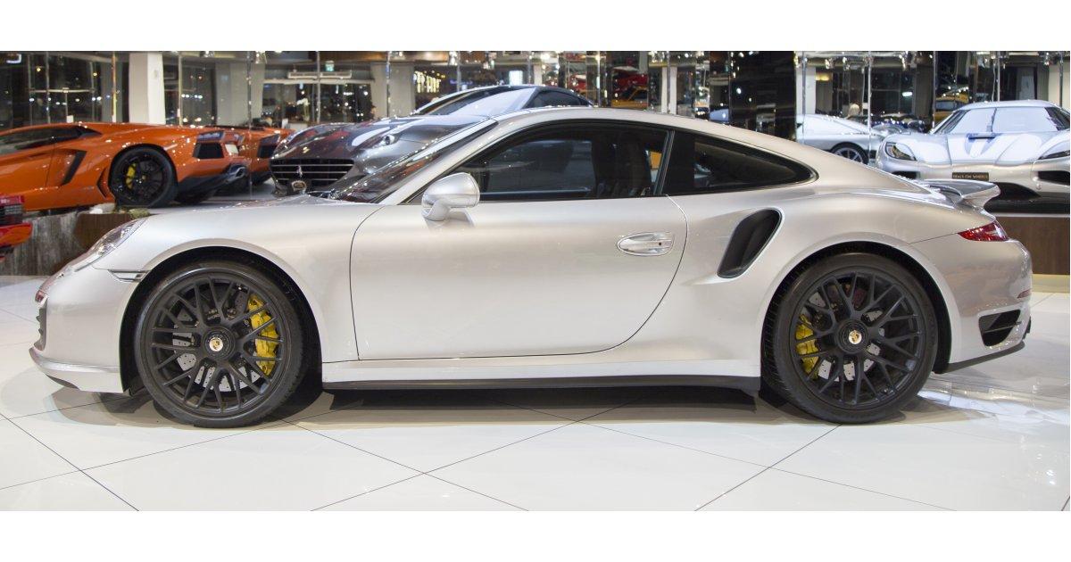 porsche 911 turbo s gcc specs for sale aed 429 000 grey silver 2014. Black Bedroom Furniture Sets. Home Design Ideas