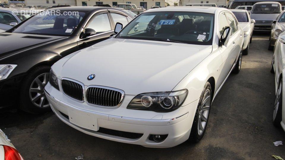 Bmw 750 Li For Sale White 2007