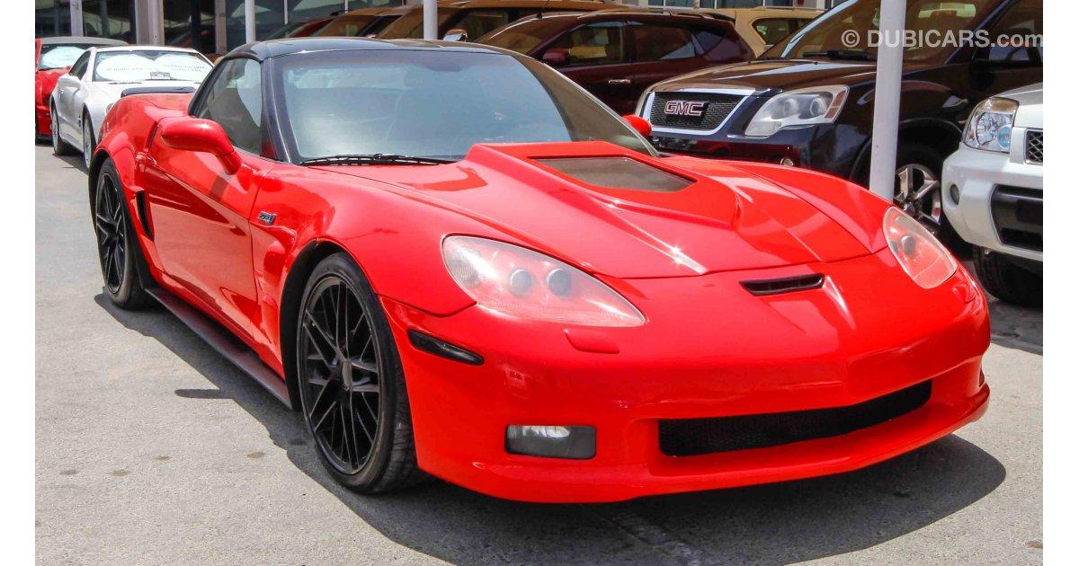 chevrolet corvette zr1 for sale aed 52 500 red 2006. Black Bedroom Furniture Sets. Home Design Ideas