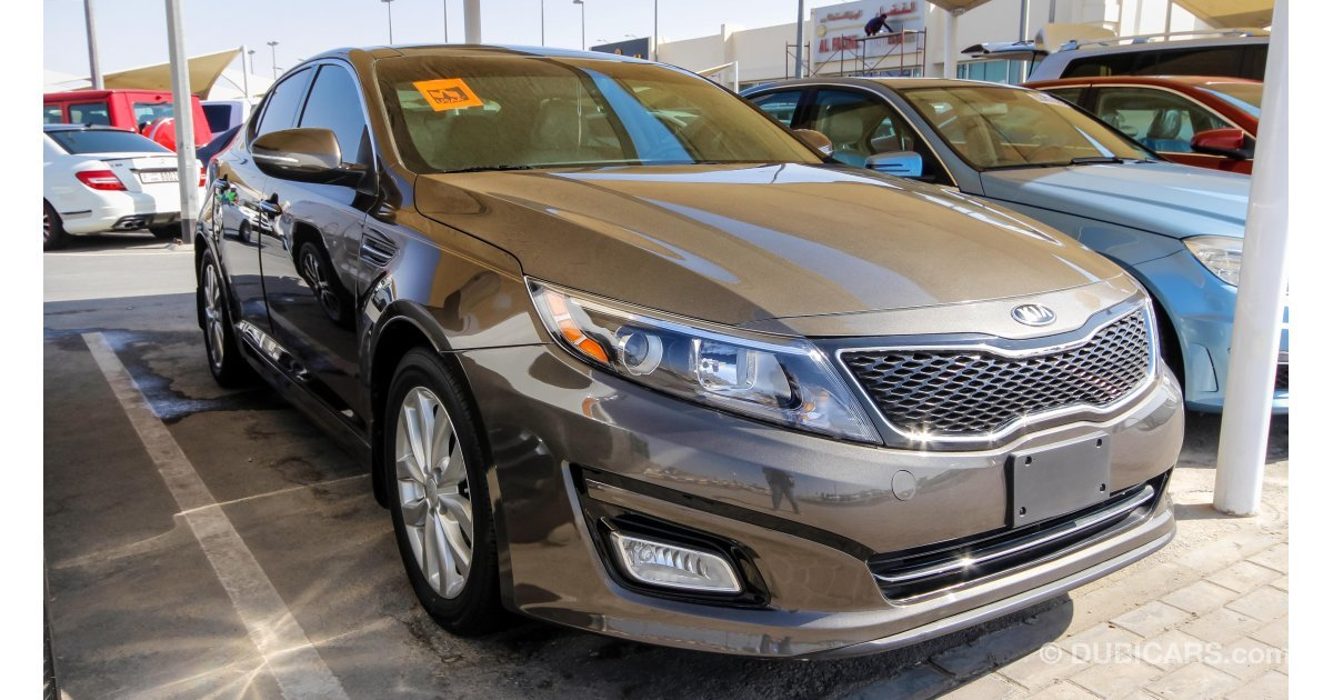 kia optima ex for sale aed 44 000 grey silver 2015. Black Bedroom Furniture Sets. Home Design Ideas