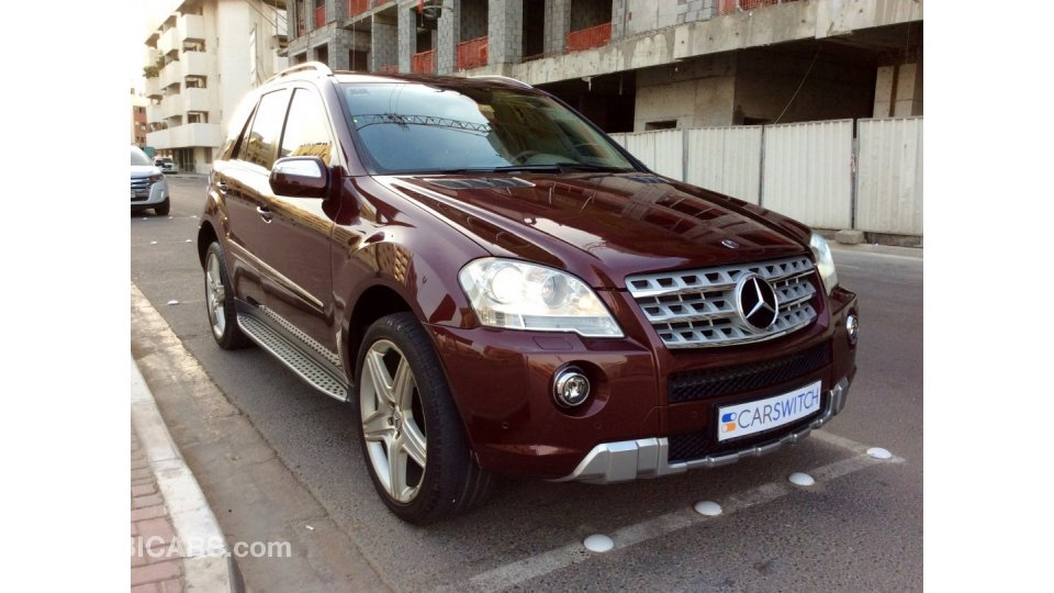 mercedes benz ml 350 for sale aed 40 000 2009. Black Bedroom Furniture Sets. Home Design Ideas