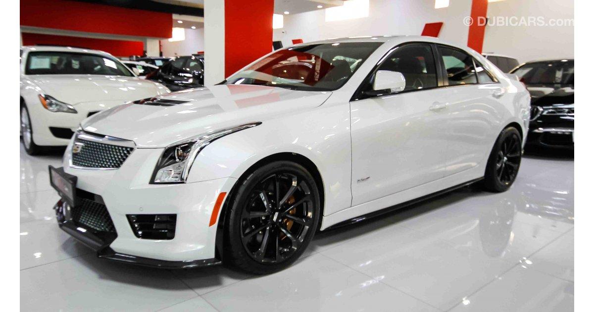 Cadillac Ats V >> Cadillac ATS V for sale: AED 220,000. White, 2017
