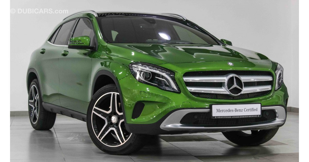 Mercedes benz gla 250 4matic for sale green 2016 for Mercedes benz gla 250 price