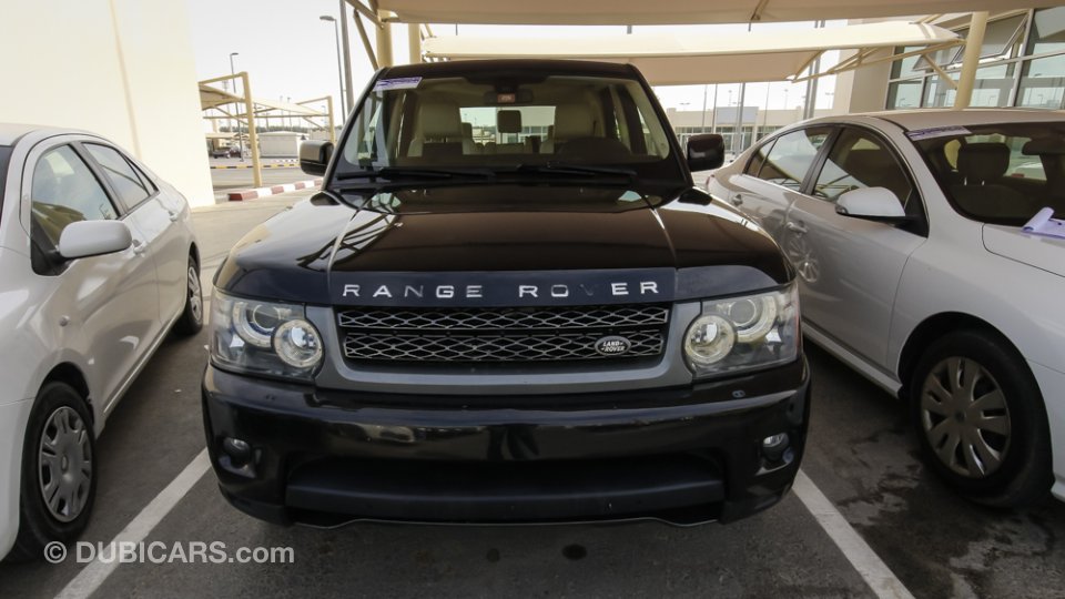 land rover range rover sport supercharged gcc for sale aed 95 000 black 2010. Black Bedroom Furniture Sets. Home Design Ideas