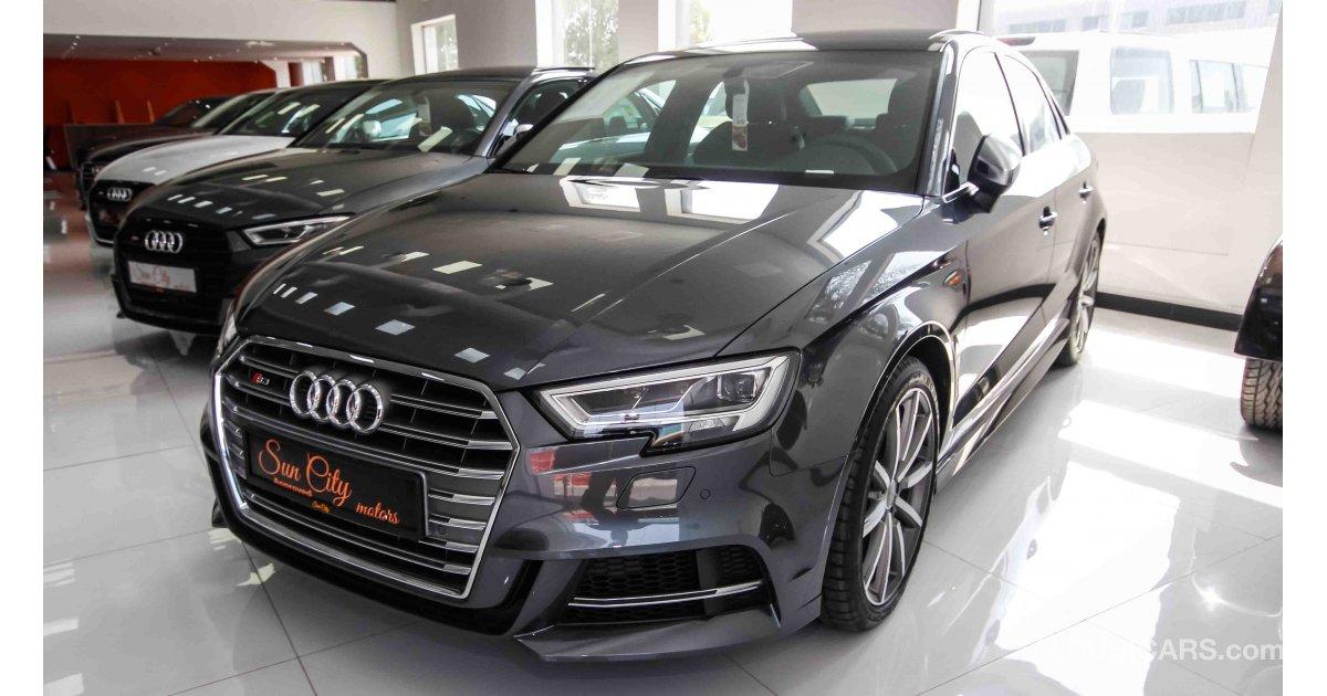 Audi S3 Quattro For Sale Aed 169 000 Grey Silver 2017