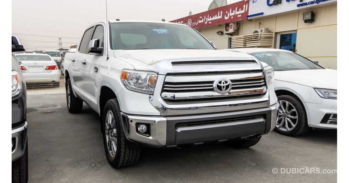 toyota tundra 1794 edition 5 7 petrol export price for. Black Bedroom Furniture Sets. Home Design Ideas