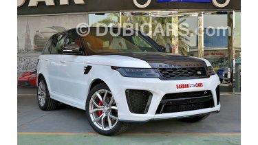 Land Rover Range Rover Sport SVR 2018 for sale: AED 625,000. White, 2018