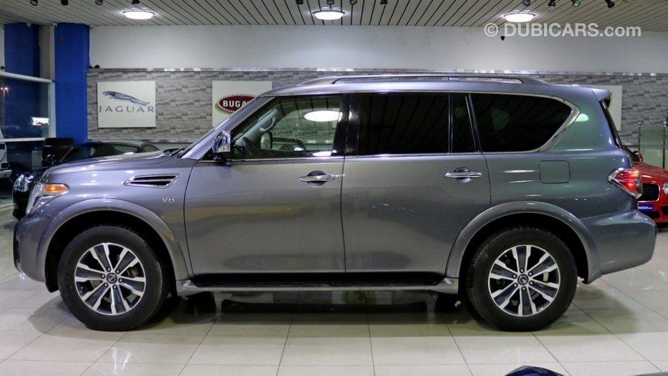 Nissan Armada Sl For Sale Aed 115 000 Grey Silver 2017