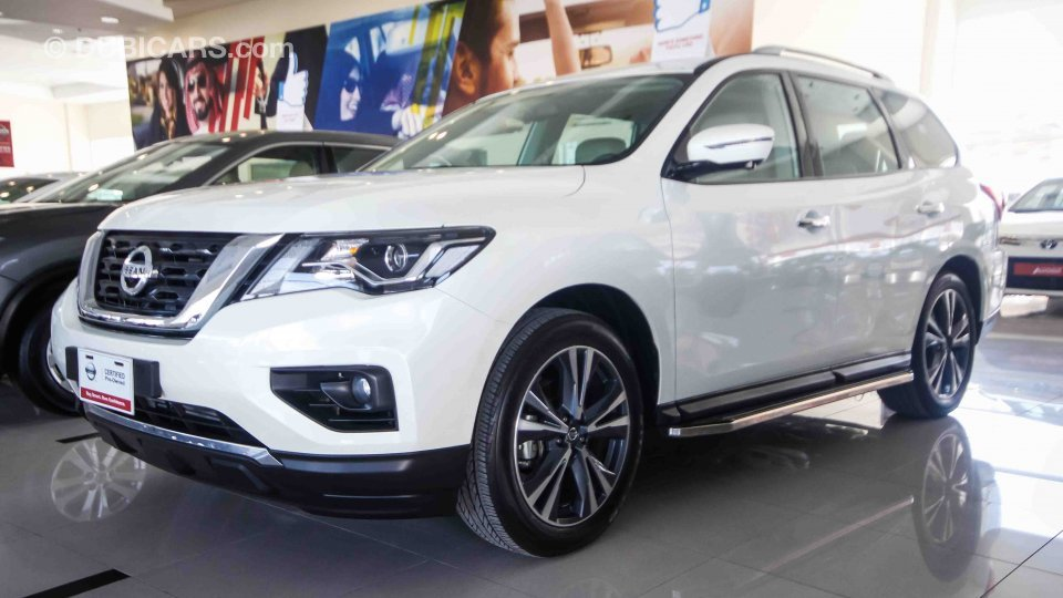 Nissan Pathfinder Sl 4wd For Sale Aed 155 900 White 2018