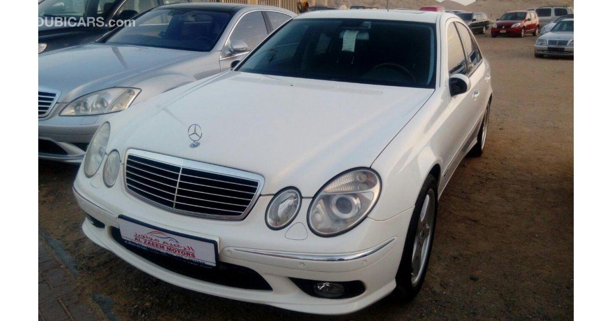 Mercedes benz e 500 amg full option jap for sale aed for 2003 mercedes benz e500 for sale